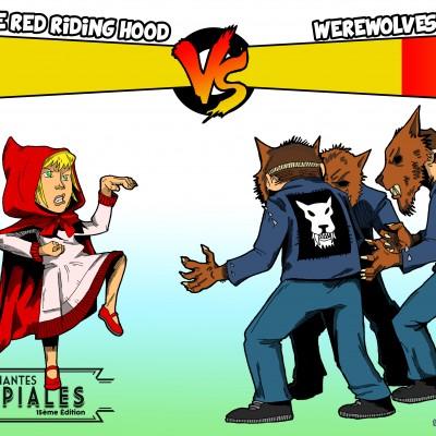 122 Chaperon rouge vs Werwolves
